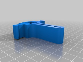 VORON Z carriage mid piece for 3 point bed mounting