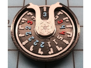 Customizable X-wing Maneuver Dial Insert