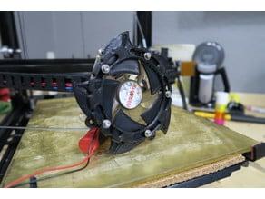 80mm Fan Aperture Door Vent