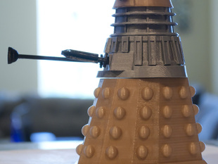 Doctor Who Snap-Fit Dalek