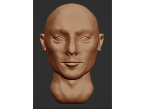 Head Sculpture (more manly)