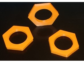 M16x1 nut for O2 cell