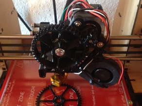 printMATE_3D Gear and pinion