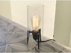Midcentury Tripod Edison Lamp