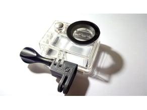 GoPro lens offset mount