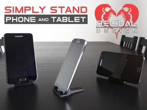 Simply Stand (For Phone and Tablet) - Recidal Design