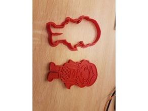 Wonder Woman cookie cutter