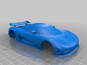 Koenigsegg Shell for V16 OpenZ Chassis.