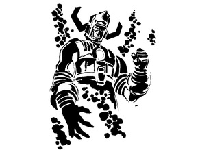 Galactus stencil