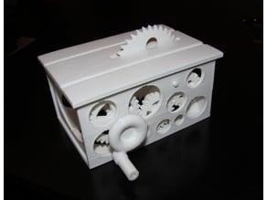 Mini Table Saw v3 - Four Gears