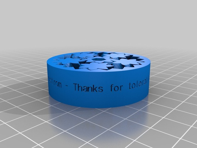thanks for tolerating me tim by brianlam thingiverse