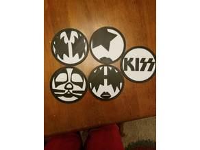 Kiss Coasters (The Band)