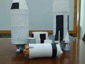 Stack Separable Saturn V