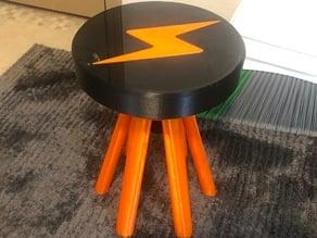 3D Printed STOOL! Adjustable Stool!