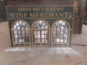 SCALEPRINT BERRY BRO'S AND RUDD WINE MERCHANTS 00/HO SCALE