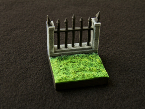 Graveyard Wall Tile - OpenForge Compatible