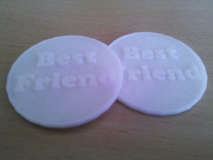 Best friend coin