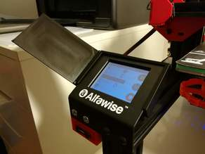 Alfawise U30 screen box with blinder.
