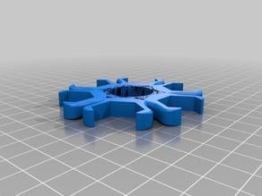 6 Nut (M12) Spinner