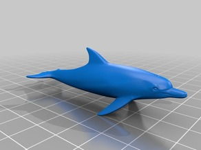 イルカ(Dolphin)3Dデータ