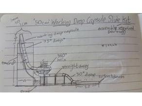 DIY Drop Capsule Slide Model Kit