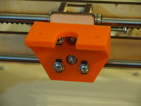 Printrbot+ and LC printed Extruder Mount