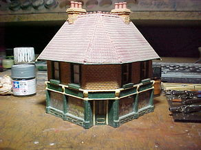 SCALEPRINT CORNER SHOP FRONT 00/HO SCALE