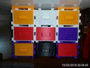 Mini Modular Drawer Box