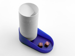 Cylindrical Dice Tower