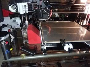 Cooling fan duct for 80mm fan