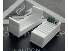 Compact SD Card Holder