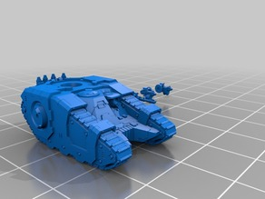 Epic Sicarcan battle tank