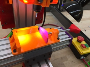 3D Printed Vice for CNC milling