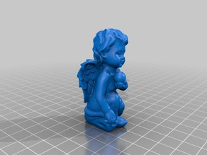 Angel with pearl - 3D Scan