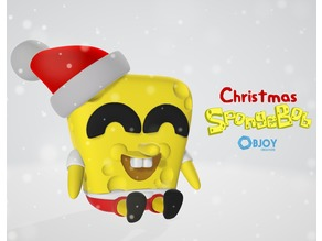 Christmas SpongeBob - by Objoy Creation