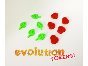 Evolution Upgrade Tokens (Boardgame)