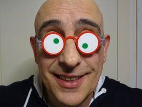 Italian flag glasses