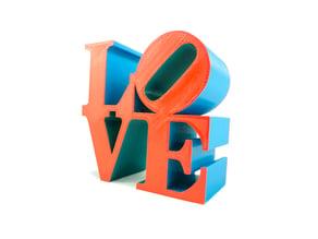 Philadelphia LOVE Statue/Sculpture by Robert Indiana