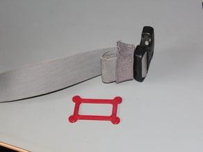 Rucksack strap retainer