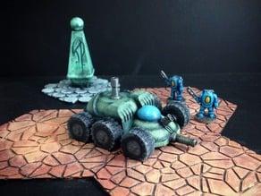 Luna City Police Buggy (Moon Patrol!)