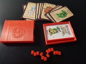 Card Game Box - Munchkin Loot Letter