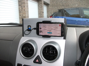 Complicated, Ugly, & Over-engineered Car Phone Holder for Ford Fusion UK