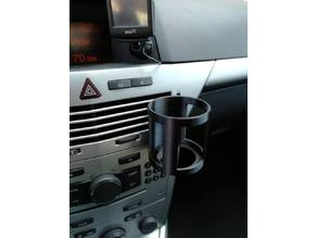 opel astra h cup holder