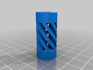 Prusa i3 Cosmetic Flexible Coupling