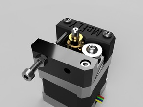 Anet A6 bowden adapter for flexible filament (fixed and reworked)