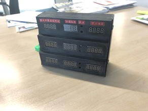 """Delorean Clock """"mini"""" - Back to the future Style"""