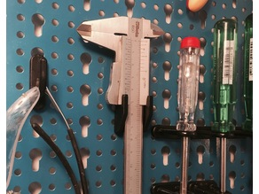 Caliper bracket - tool wall