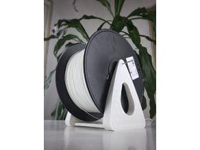 Filament spool holder, for big (3Kg) & regular (0.75-1Kg) spool size