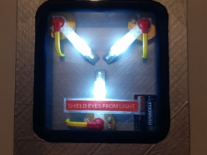 Flux Capacitor with LEDs
