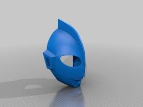 Ultraman Hayata Wearable mask cut for 210x210x210